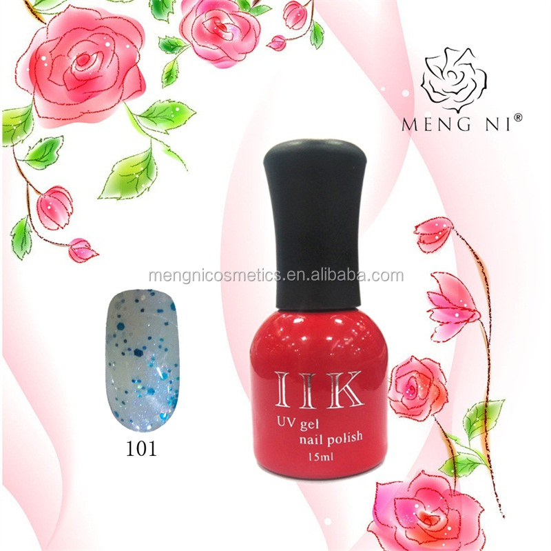 2016 Mengni fashion colorful gel nail polish <strong>101</strong>