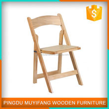 Oem Office Flexible Wooden Folding Chair
