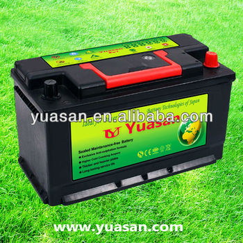 Competitive DIN 12V100AH MF Sealed Maintenance Free Truck Battery