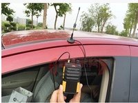 Dual band two way radio small magnet car whip antenna 144/430M