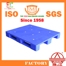 59 years old plastic products factory in China providing heavy duty plastic pallet with very cheap price
