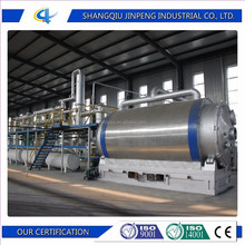 Waste Tire Oil Refinery Plant Waste Rubber to Diesel Used Plastic Recycling Machine