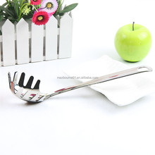 Hot selling Stainless Steel Pasta Spoon Server/ Pasta Fork/Spagetti Server