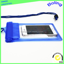 OEM customized PVC waterproof phone case for Christmas gift