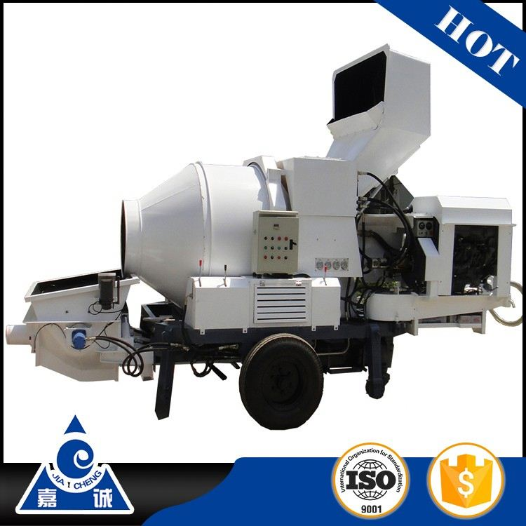 New JZC350 small towable mini mobile concrete mixer with ISO