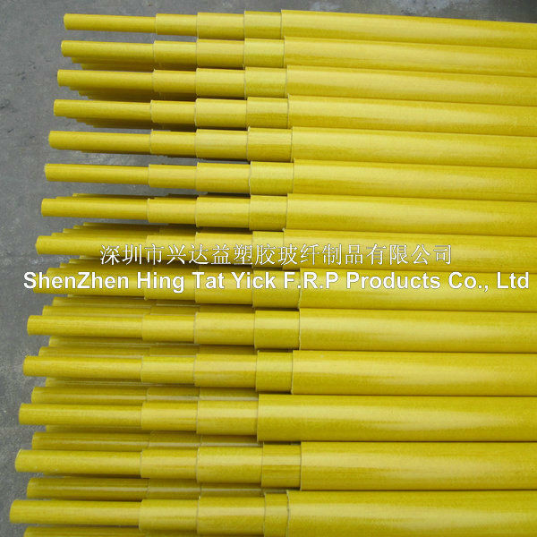 Telescopic/Retractable Fiberglass Composite Pipe/tube/pole/mast
