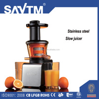 Stainless steel Healthy Low Heat Vitamin Preserving Masticating Slow Juicer