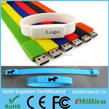 Bracelet usb flash drive, wrist usb, hand band usb flash drive