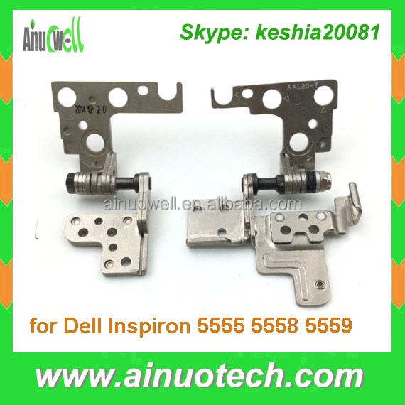 Laptop lcd hinge for Dell Inspiron 5555 5558 5559 laptop screen bracket LCD hinges noteook rotating shaft