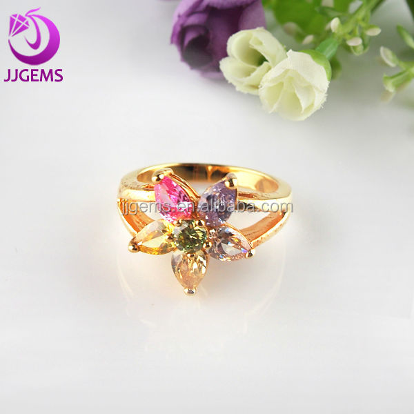 China manufacturer 14k yellow gold 925 sterling silver ring jewelry