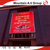 Advertising outdoor p16 full color sign led