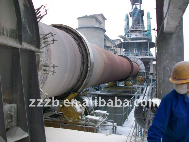 Calcining rotary kiln for sales