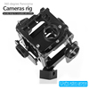 New Products 2016 CNC Machining Film Shooting Equipments 360 Degree mount 6 gopro cameras Gopro video rig for Gopro