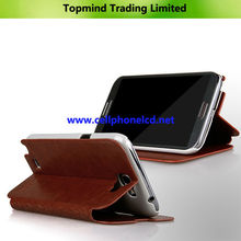 Topmind Leather Case for Samsung Galaxy Note 2 N7100