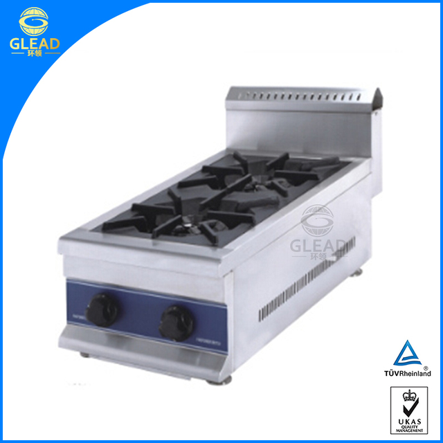 China Factory Supplier 2 Burner Table Top Gas Stove/commercial Portable Gas  Stove Burner