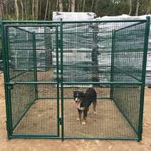 China factory fast delivery dog house / dog playpen plastic / metal steel wire mesh dog kennels