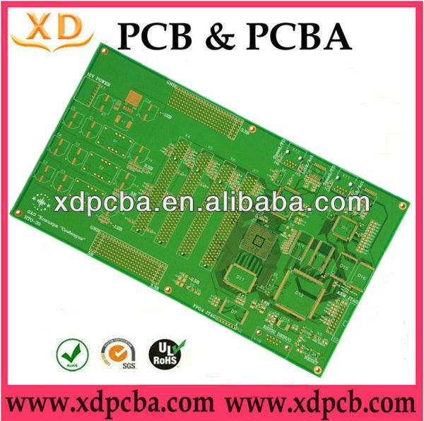 6 layer pcb gold-plated mobile pcb board