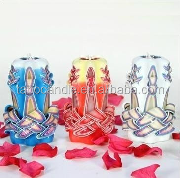 manufactures from China supply carved candle