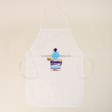 wholesale custom printed disposable non woven apron for promotion