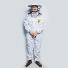 2018 Honey bee suit factory directly supply 3 layer mesh cloth poly cotton beekeeping suit for beekeepers