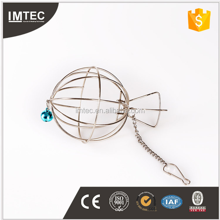 2016 IMTEC animal pet products stainless Metal Sphere & birdcage style hamster cage