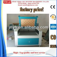 Jinan best price 1200*900mm used laser cutting machines for sale with CE approved