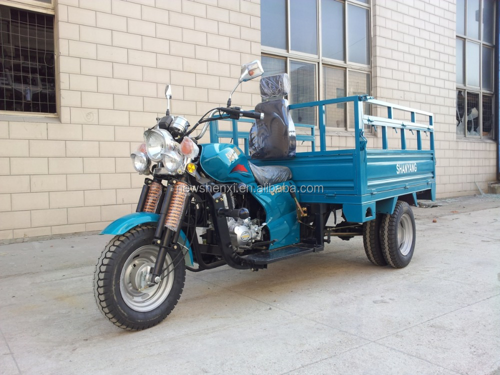 250CC 5 Wheel Cargo Motorcycle with Double Rear Wheels Heavy Loading 2000KG