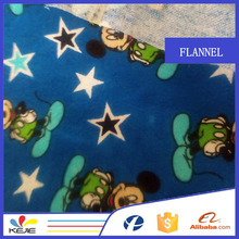 beautiful Donald Duck all cotton printed pattern soft flannel fabric for baby