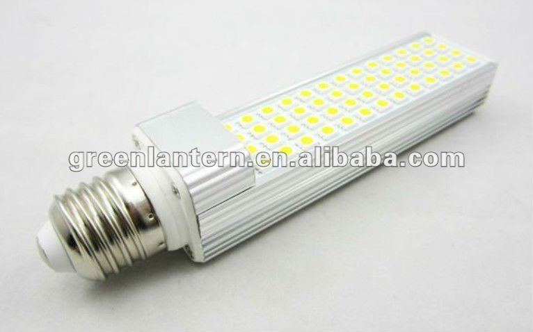 high power 11W G24 / E27 PL LED down light