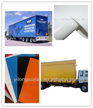 high quality PVC coated cover fabric for haul truck
