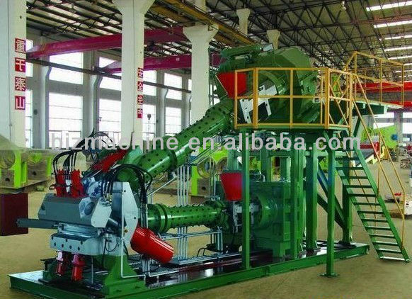 Compound Tyre Tread Extruder