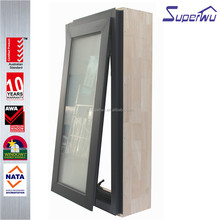 Customized Australian style double sealing aluminum chain winder awning Window with crank operator