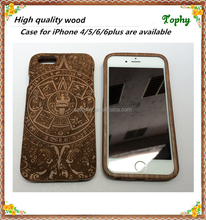 Mobile phone black walnut shell case wood case for iphone 5 6 6plus