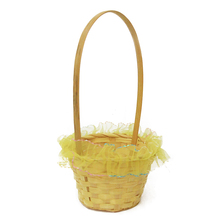 New products hanging storage fruit picnic wicker christmas gift basket
