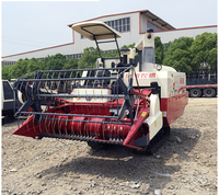 cheap price agricultural machines 4lz-4.0 5.0crawler combine harvester