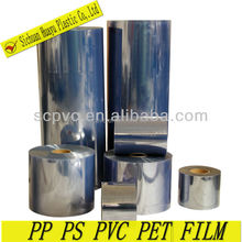 A broad range highly reflective appearance rigid plastic film