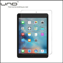 2017 high quality anti-oil tempered glass screen protector for ipad mini 4