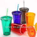 Cups&Saucers Drinkware Type and PS Plastic Type Double wall plastic cup