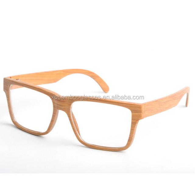 bamboo optical glasses frame_Yuanwenjun.com