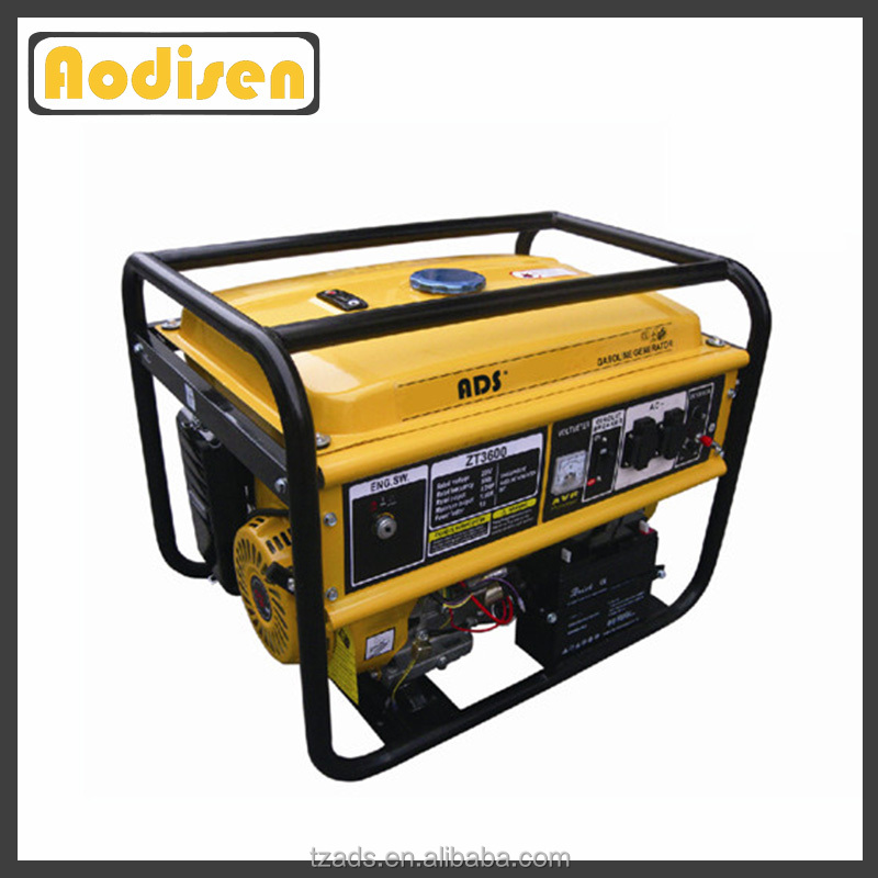 188f engine electric start soundproof petrol generator