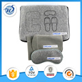 Zipper bag include eye mask pillow earplug toothbrush travel set