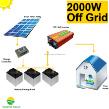 high effective 2kw mini solar system project