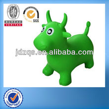 PVC-Plastic animal toy/ride on inflatable pvc toys/inflatable pvc animal