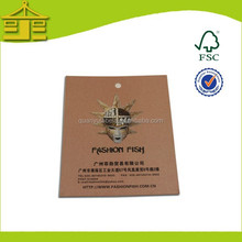 Vintage Customized Wash Care Hang Tags/ Gym Hoodie Hang Tags With 3D Effect In Guangzhou