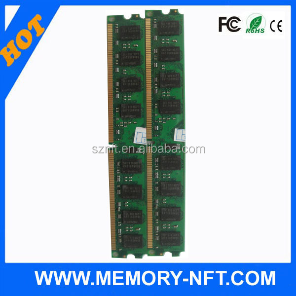 Import computer parts from china with CE FCC RoHS memory ram ddr2 2gb 800
