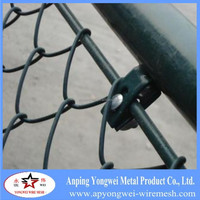 strong practicability hot dipped galvanized chain link fence factory