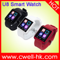 1.54 inch Capacitive Touch Screen MTK 6261 Bluetooth GSM Cheap DZ09 Smart Watch Phone