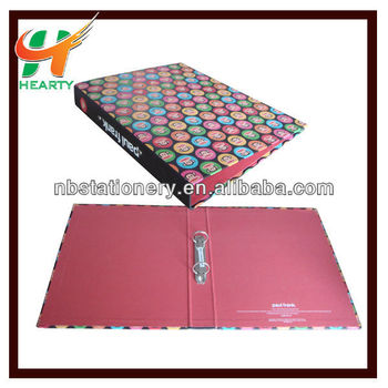 Hot selling paper board file folder with clips
