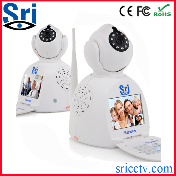 Sricam SP003 Network Phone Camera battery operated Security Email Alarm Free Video Call ip camera 3g sim