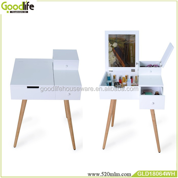 Good quality cheap price wooden dressing table with drawers